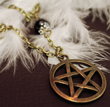 Collier Pentacle bronze